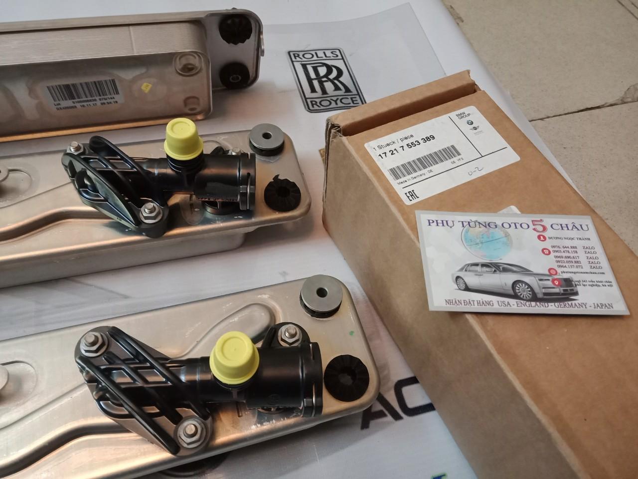 Két Làm Mát Dầu Hộp Số BMW 17217553389 (5)