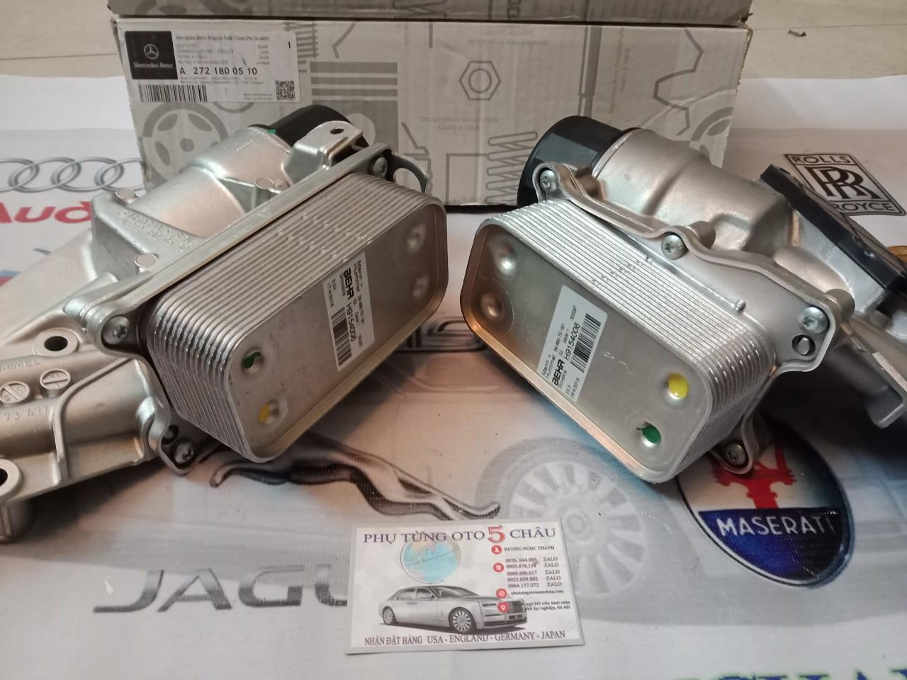 Két Làm Mát Dầu Mercedes 2721800510 (2)