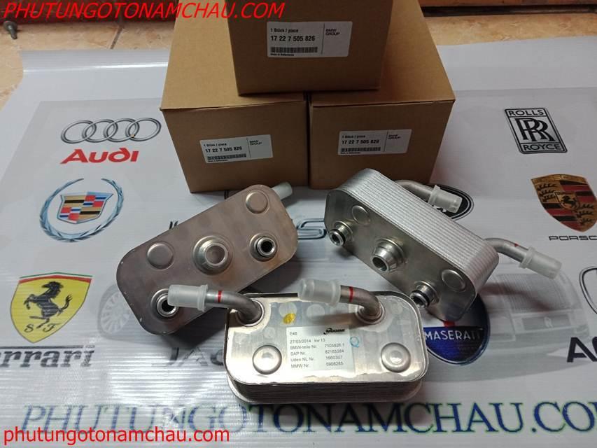 Két Làm Mát Dầu Tự động TOPAZ 17227505826 Cho BMW E46 E83 E85 (2)