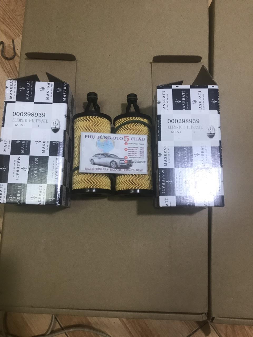 Lọc Dầu Máy MASERATI GT Quattroporte Ghibli 000298939