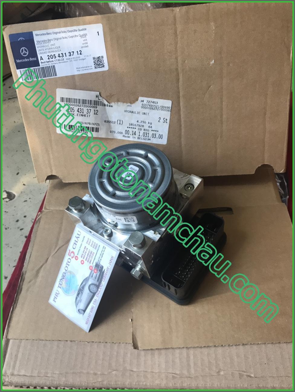 Cụm Chấp Hành ABS Mercedes C300 4Matic A2054313712