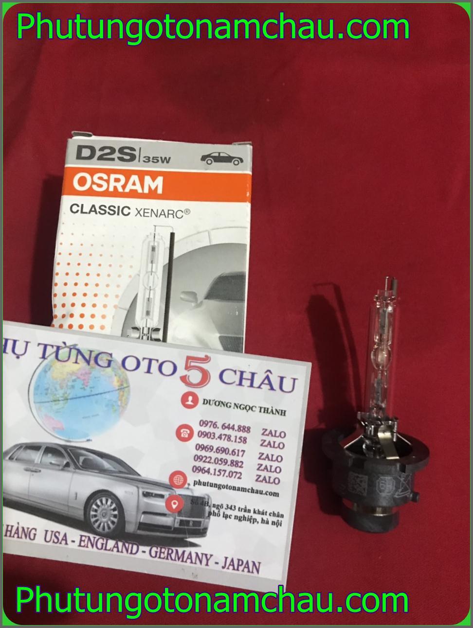 Bóng đèn Pha Xenon Mercedes D2S OSRam