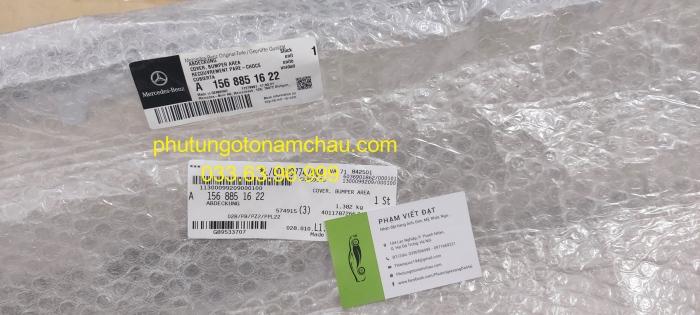 A1568851622 Nẹp Inox Cản Trước GLA200 (1)