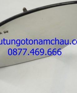 Cadillac Escalade Left Driver Door Mirror Glass 23394637 OEM A1_result